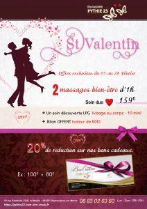 Pythie 23 – Offres Saint Valentin 2021